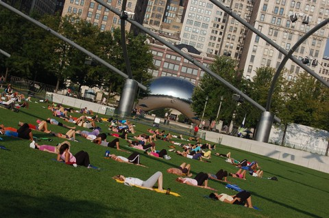 Yoga-Millenium-Park-Photo