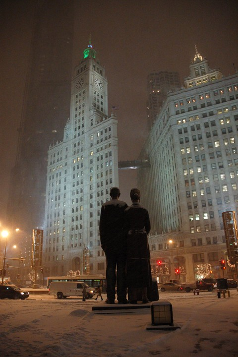 Neige-Michigan-Avenue-Chicago-Photo